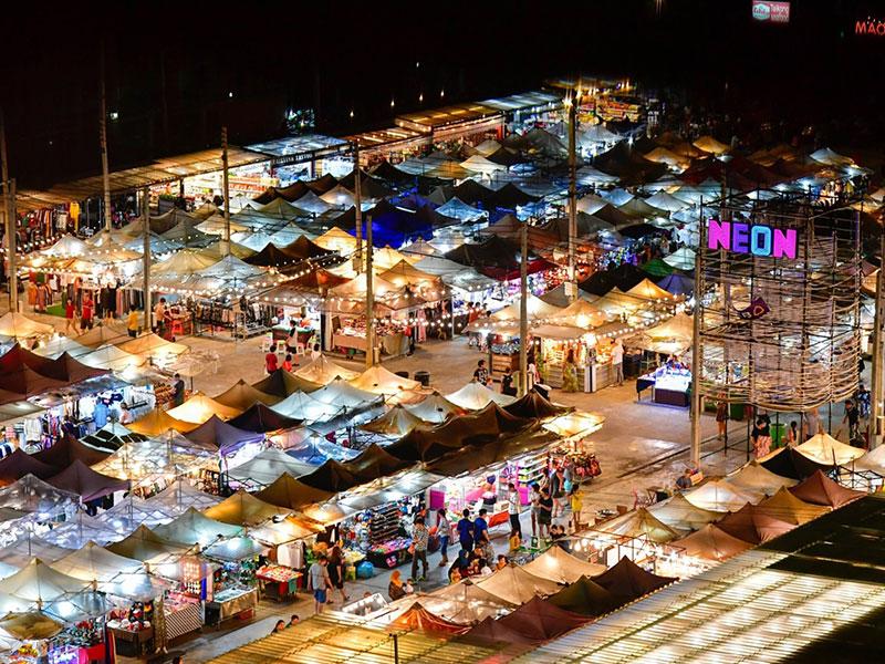 The Neon Night Bazaar